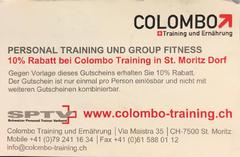 Colombo training und Ernährung